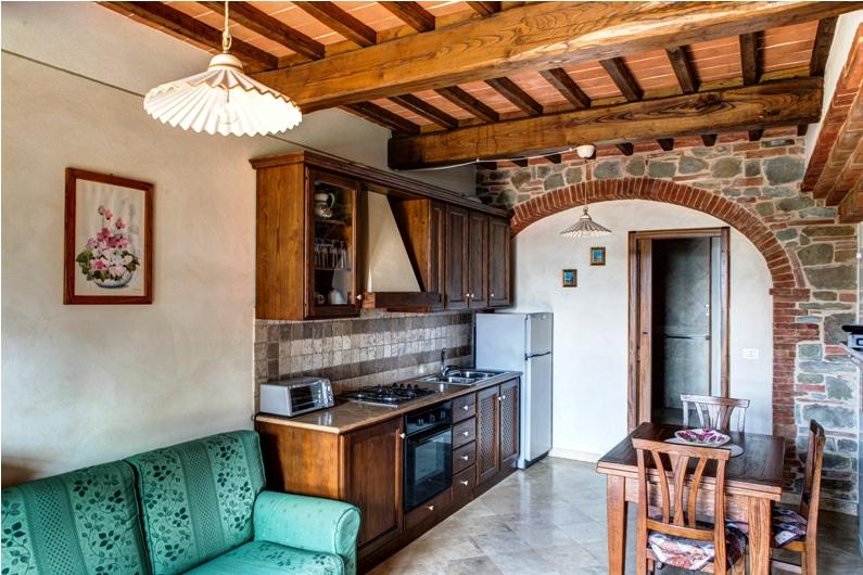 Appartamenti per vacanze il colle rigomagno di sinalunga for Appartamenti siena